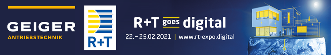 Banner zur R+T digital 2021