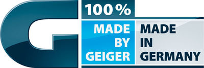 100% Made by GEIGER – 100% Made in Germany