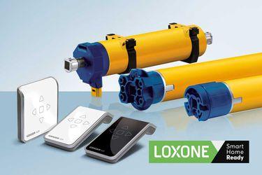Avec les produits AIR de Geiger, tous les systèmes de protections solaires sont maintenant Smart Home Ready et peuvent être intégrés dans l'automation Smart Home de Loxone.