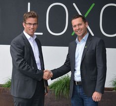 GEIGER CEO Dr Marc Natusch (l) and Loxone CEO Martin Öller (r)
